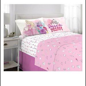 NEW Disney Princess 4 Piece Full Size Sheet Set